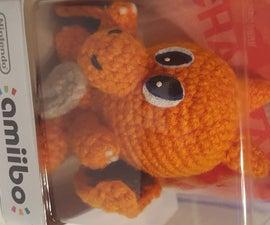Custom Amigurumi Charizard Amiibo (Crochet)
