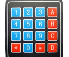 4x4 Keypad With Arduino and Processing