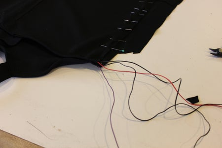 Solder and Place Battery Pack