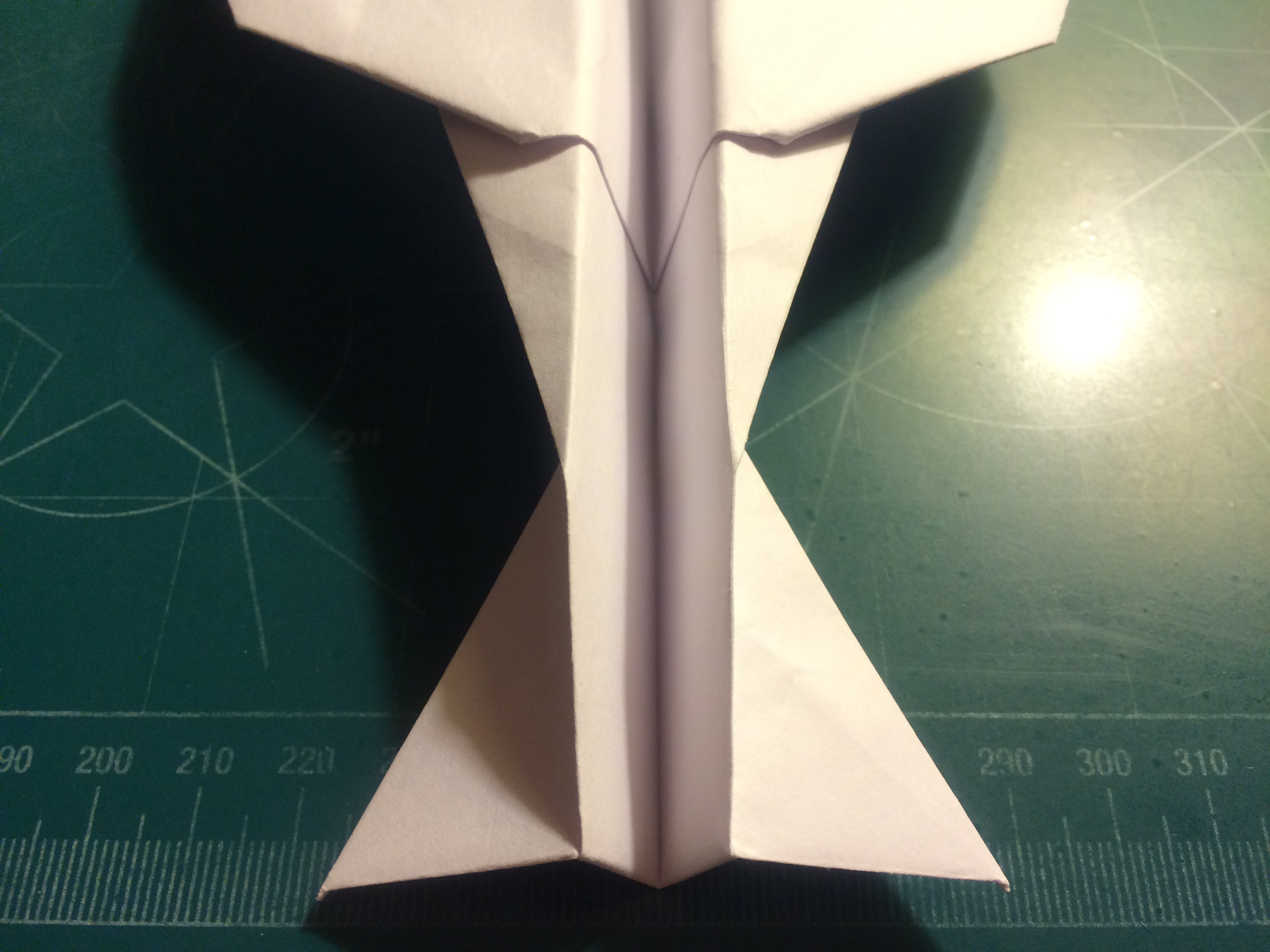 Picture of Canard, Wing and Winglet Folding; Taping