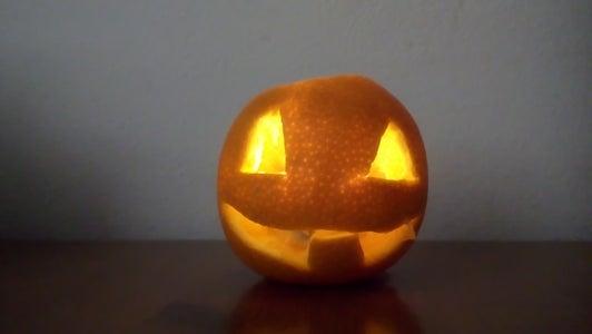 Halloween Orange Scarecrow ENG/CZ