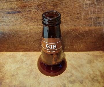 Beer Bottle Candle Holder