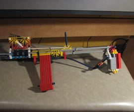 Mods to the knex rifle