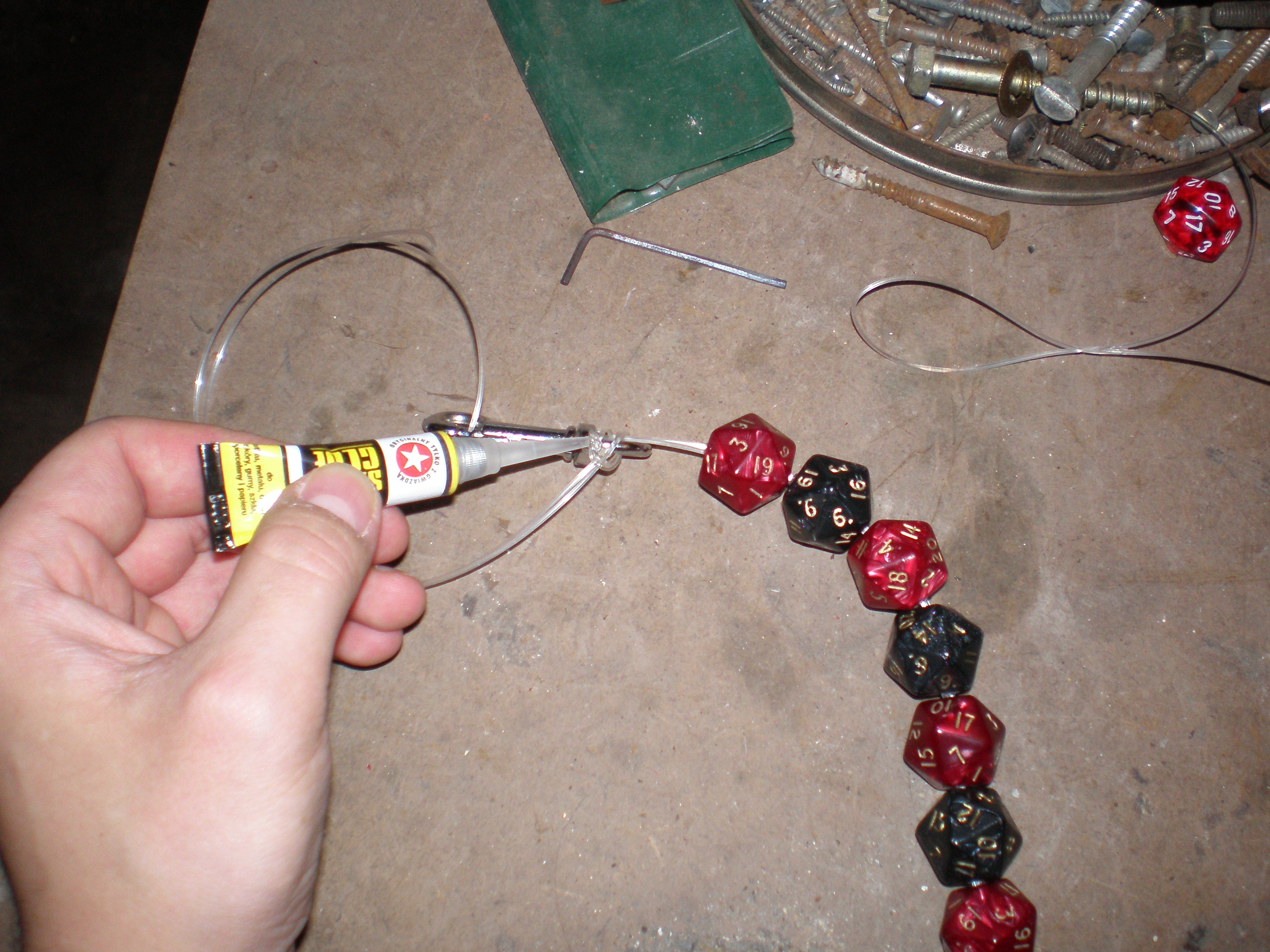 Picture of Creating a Chain.