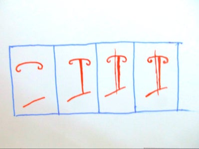 Draw the Letters