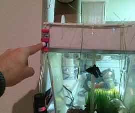 One Button Fish Feeder