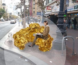 Mineral Benches: Gold