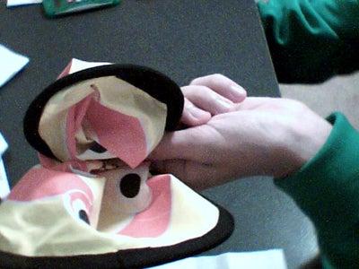 Fold the Frisbee