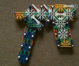 K'nex SMG with removable mag