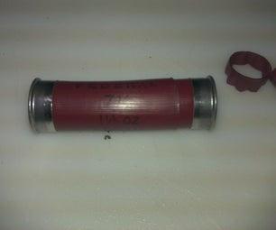 Simple Waterproof Case From Shotgun Shells