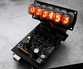 Arduino Powered Nixie Tubes: ArduiNIX Nixie driver shield assembly