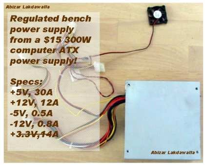 ATX Based Lab Power Supply : 10 Steps - InstructablesInstructables