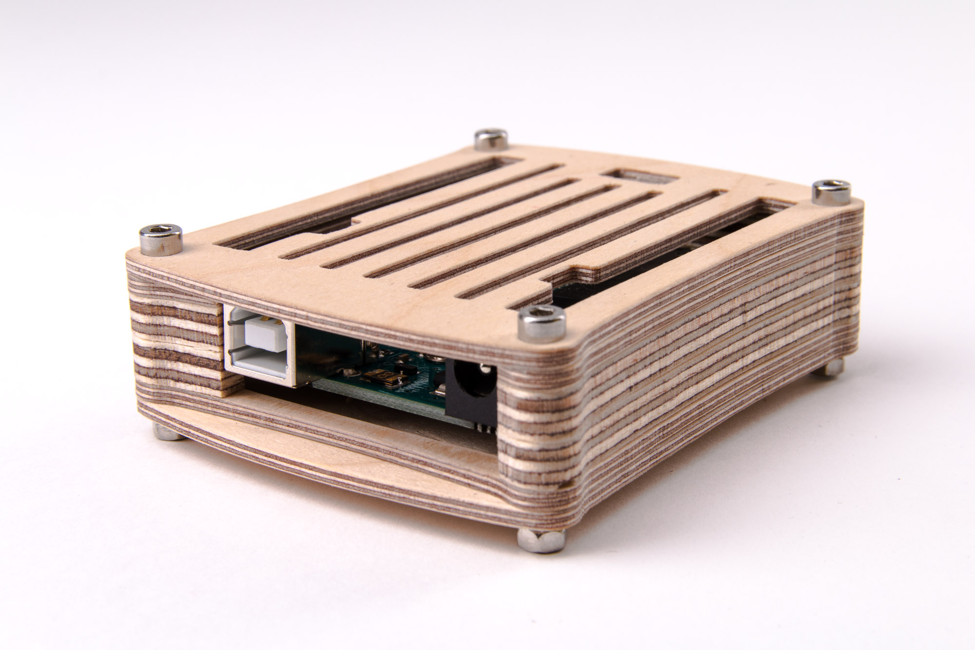 Picture of Wooden Arduino Case