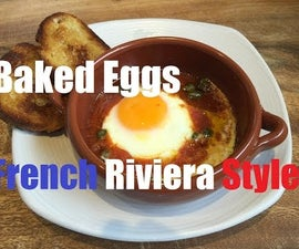 "Baked Eggs ""French Riviera Style"""