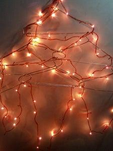 Motion Sensor Christmas Lights and Hanging Tree