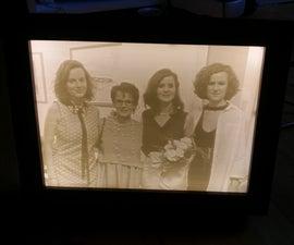 Photo Frame Lithophane Backlight