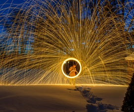 How to Create and Photograph Spiral Sparks