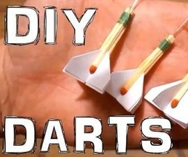 DIY Darts (out of matches)