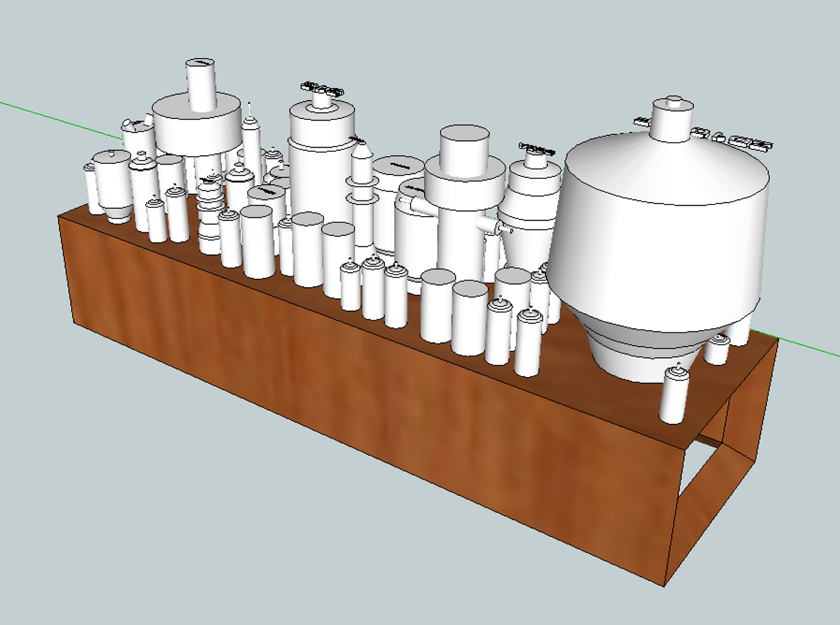 Picture of Measure Tubes and Recreate Them in SketchUp