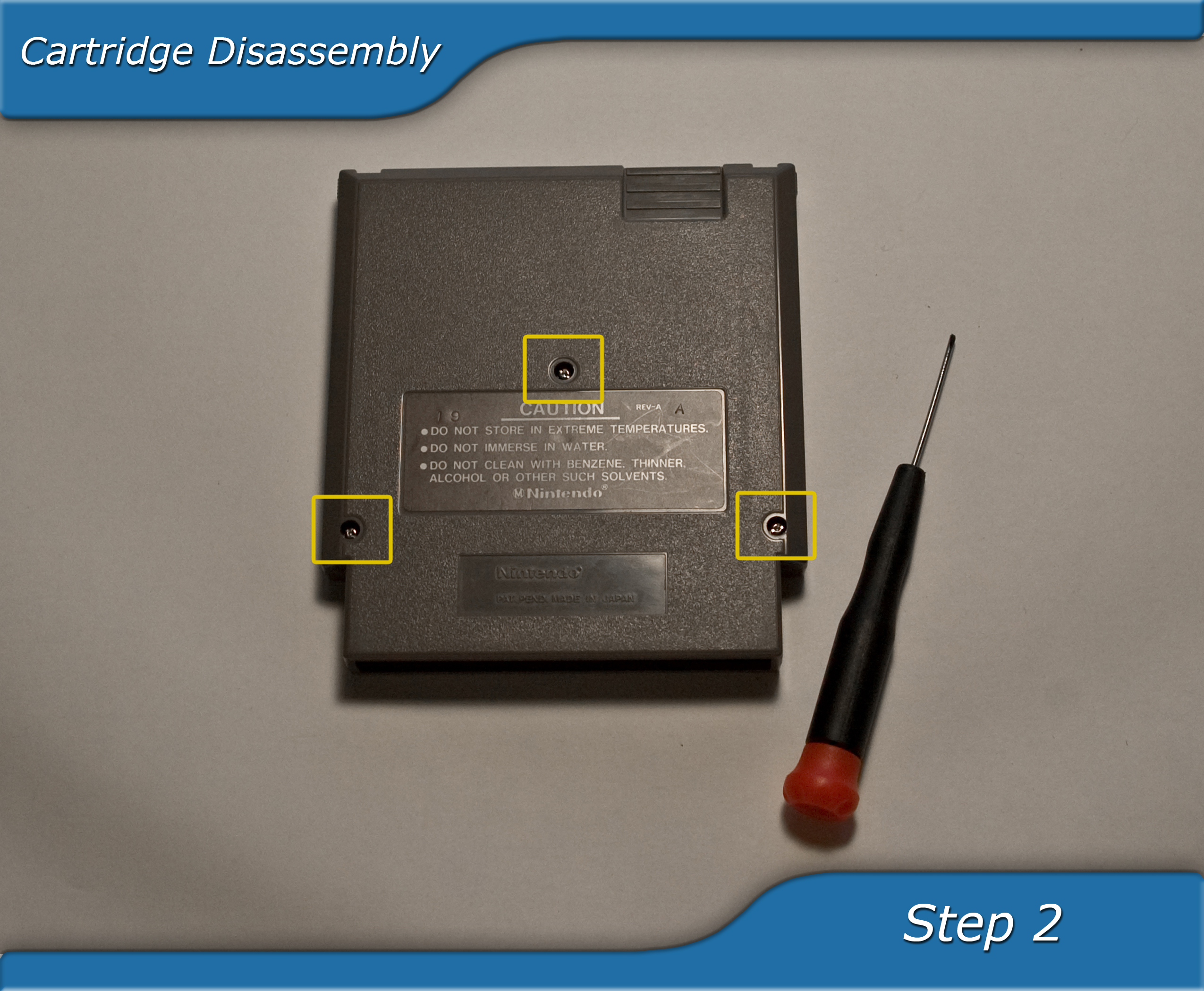 Picture of Cartridge Disassembly