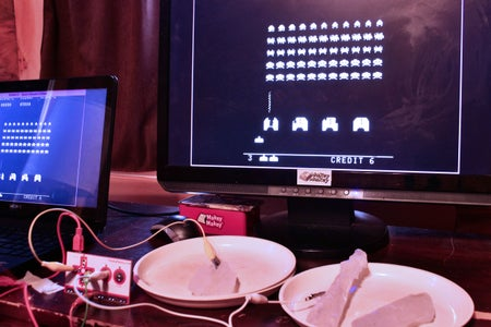Control Video Games With Icicles!