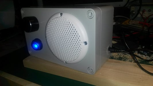 Building a Speaker for the Bathroom