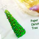 DIY Paper Wicker Christmas Tree | How to Make Paper Wicker Christmas Tree | DIY CraftsLane
