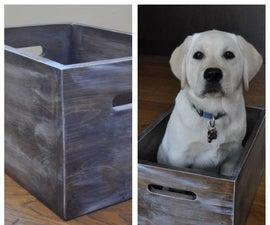 Rustic Whitewash Box