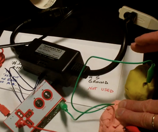 Power an Outlet With Makey Makey