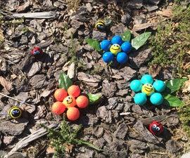 GOLF BALL Garden Decorations