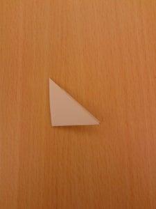 制作三角折纸