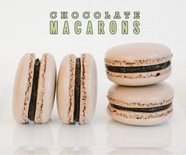 Chocolate Macaron Recipe (Italian Method)
