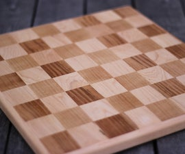 Solid Wood Chess-board