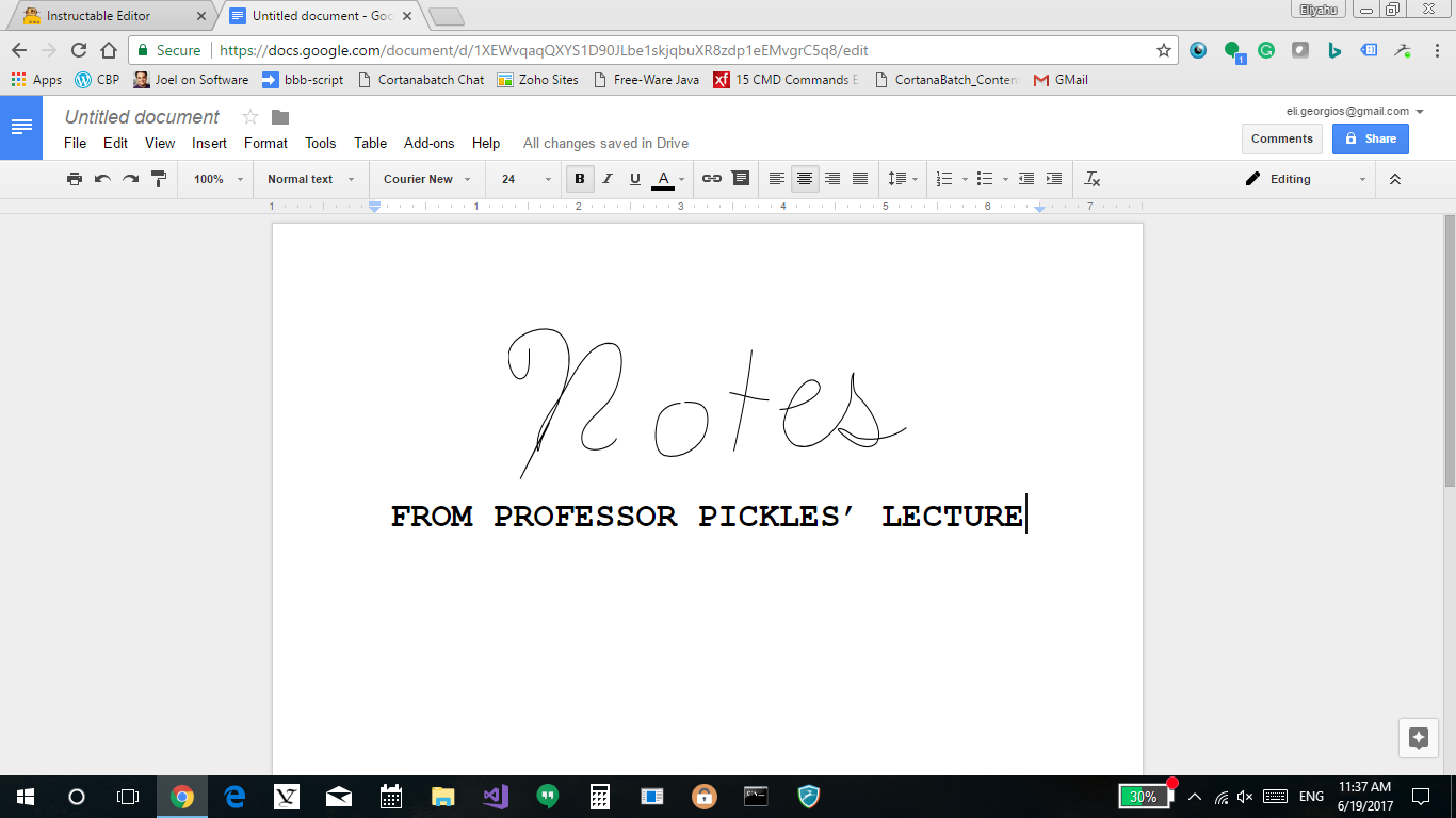 Picture of Notes