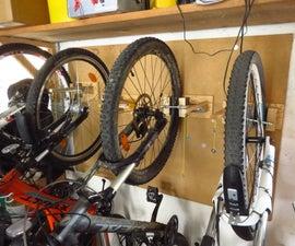 Bike Wall Hanger Feat. Easy String Mechanism