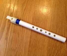 3D Printed Penny Whistle