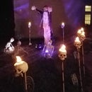 LED Skull Torches