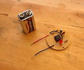 Pulse Generator Using a 555 Timer