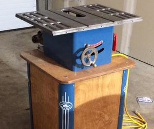 Restoring My Nonno's 60ish Year Old Table Saw