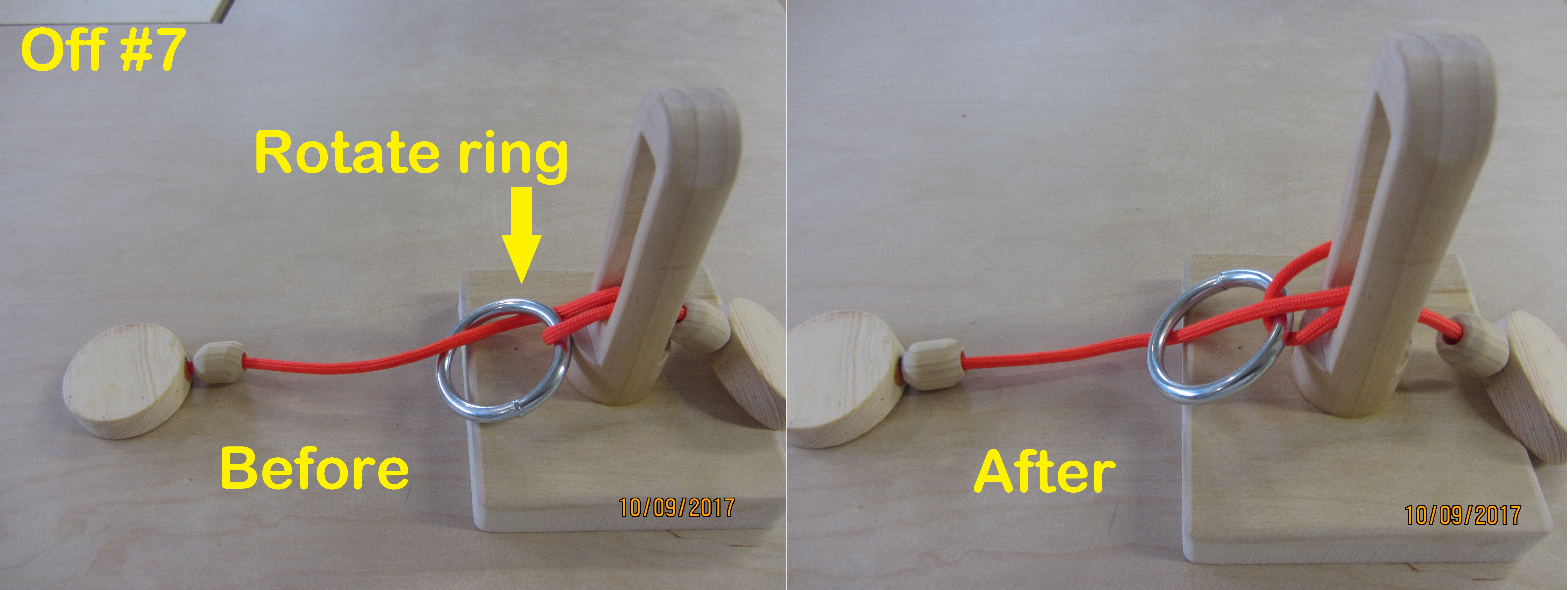 Picture of Solution - Remove the Ring - Step by Step Photos
