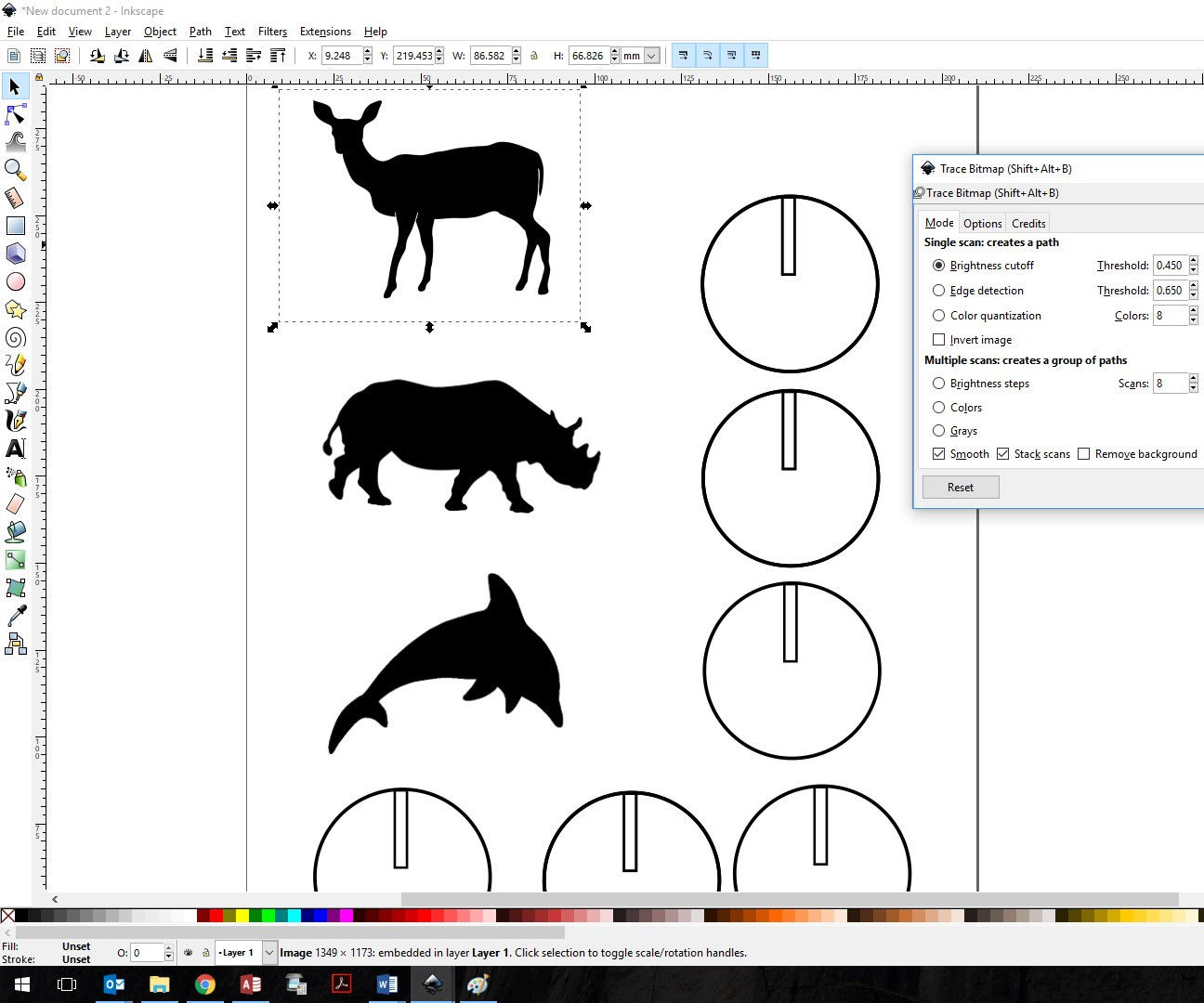 Turn Images Into DXF Files for Laser Cutting: 8 Steps