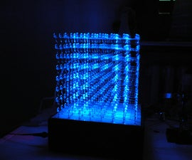 How to build a 8x8x8 led cube (English version)