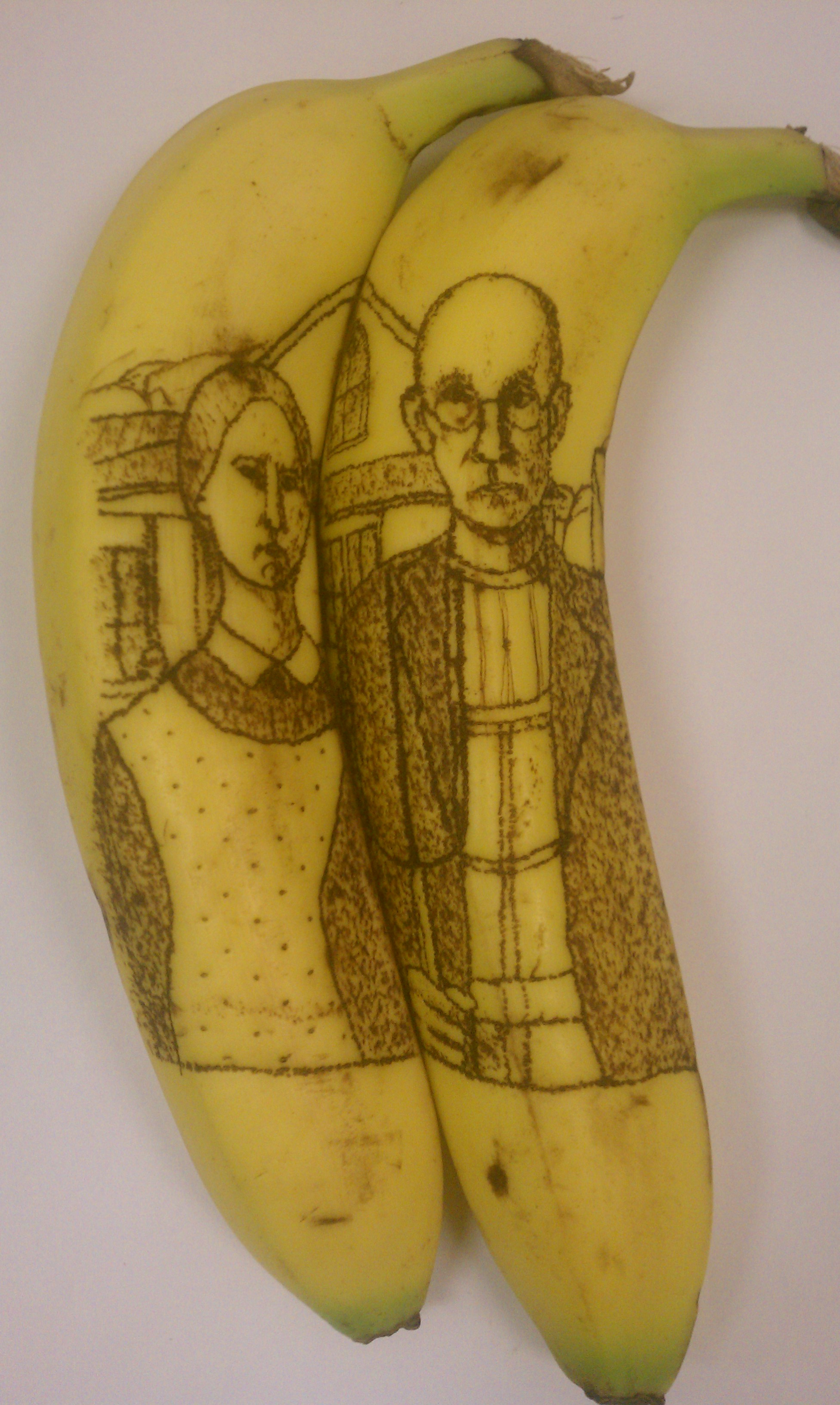 Picture of How to Make Banana Oxidation Art/ How to Tattoo a Banana