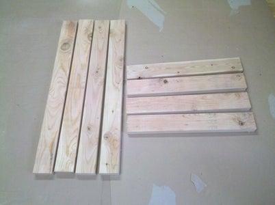 Step 2 Cut Legs and Braces