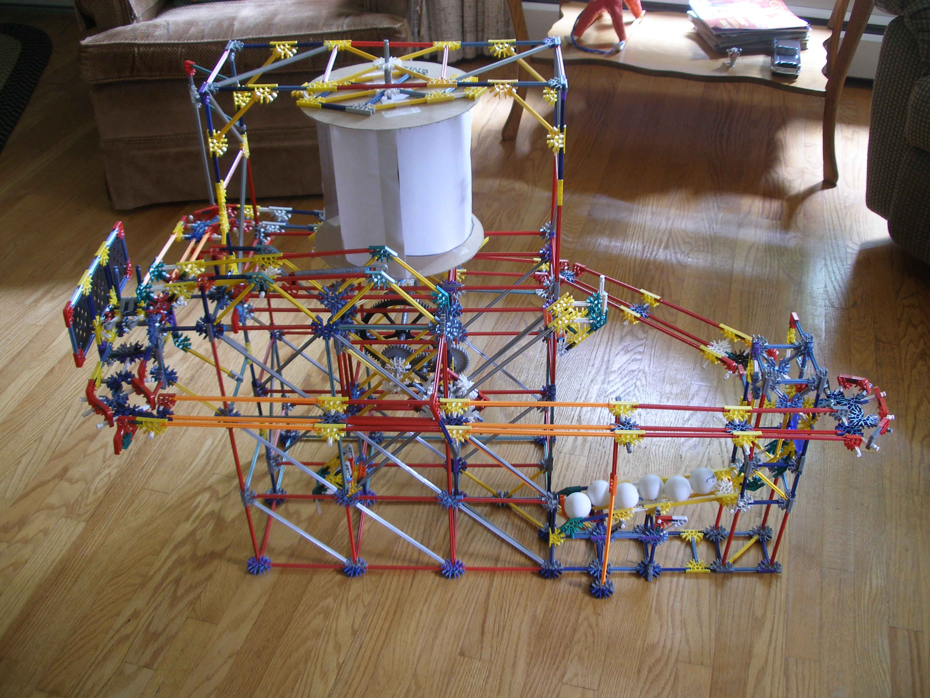Picture of Aeolus - Wind Powered Knex Ball Machine