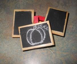 How to Make Mini Chalkboard Clips