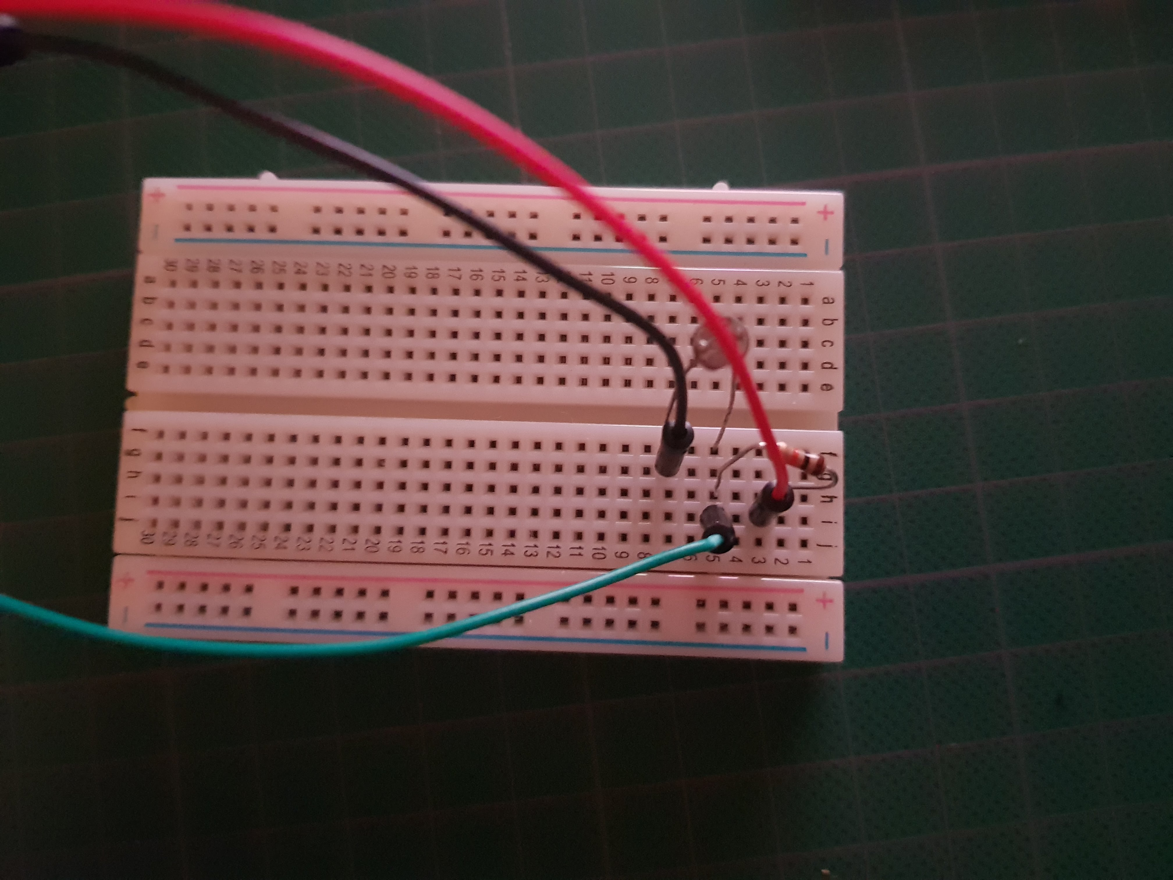 Picture of Adding the Photoresistors to Your Arduino