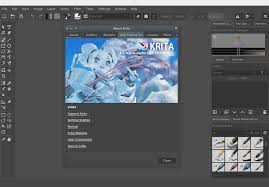 """Search """"Download Krita"""" on Some Sort of Search Engine."""