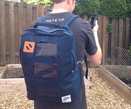 Solar Phone Charging Back Pack