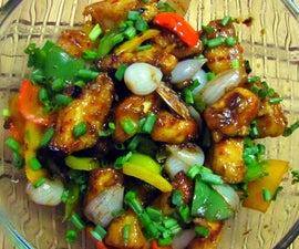 Chinese Chili Tofu